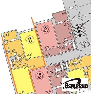 2 комнатная квартира ул. Веллинга 3 - Фото 1
