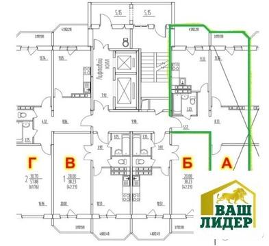 Продам 2 комн. квартиру в г. Домодедово, ул. Гагарина, 63 - Фото 2