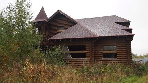 Деревянный дом 300 кв.м под отделку д.Мышецкое у озера - Фото 2