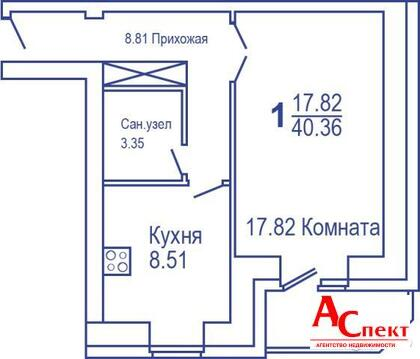 Однокомнатная квартира на Пирогова - Фото 2