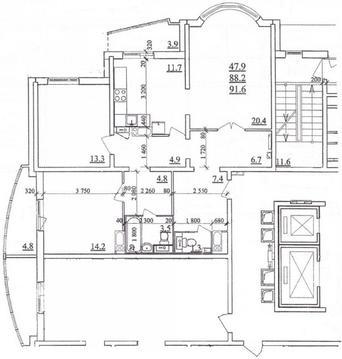 Продам трехкомнатную квартиру в башне, в Губернском! - Фото 5
