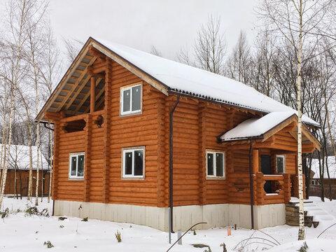 Дом 151м2, 10сот, Киевское ш, 55 км, кп Лесная радуга - Фото 2