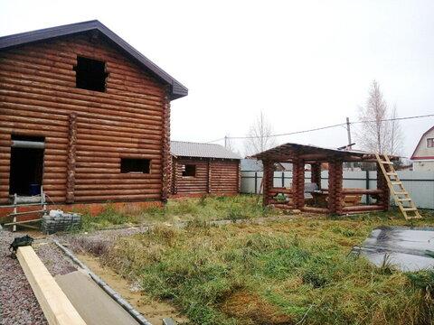 Кобралово участок с домом, баней, беседкой из калиброванного бруса ИЖС - Фото 1