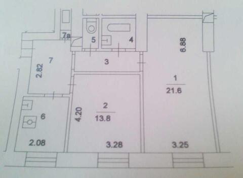2-комнатная квартира ул. 1812 г, д. 7 на 2 этаже 7-этажного фасадног - Фото 2