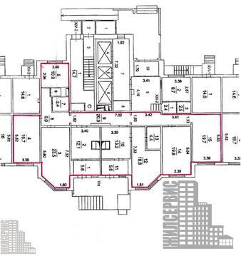 Помещение в жилом доме на 1 этаже, лифт, 3 км от МКАД - Фото 3
