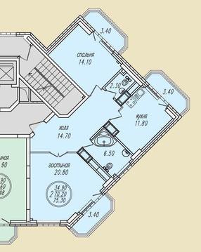 Г.Раменское, ул. Северное шоссе, корпус 8, секция А, 15 этаж