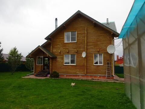 2-х этажный дом из оцилиндрованного бревна в Серпуховском районе, с.Ли - Фото 2