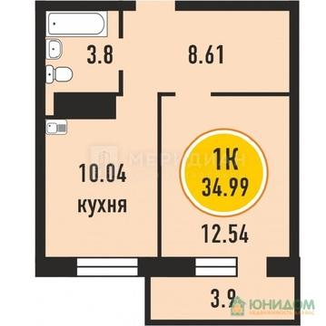 1 комнатная квартира, ул. Верхнетарманская, Мыс - Фото 3