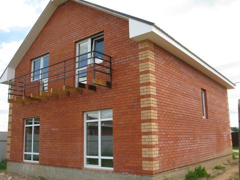 Качественный дом 170 кв. м, с центральными коммуникациями, Кабицино - Фото 1