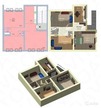 Трехкомнатная квартира в новом доме со свидетельством! - Фото 2