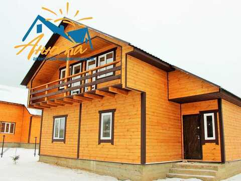Новый дом с пропиской в деревне на берегу озера в калужской области - Фото 1