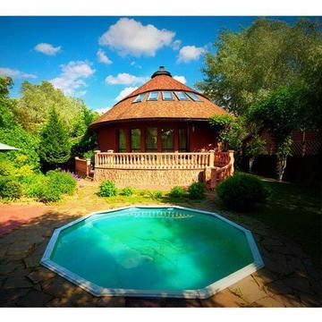 Уникальный дом на Рублевке, интересная архитектура, низкая цена, 15 км - Фото 2