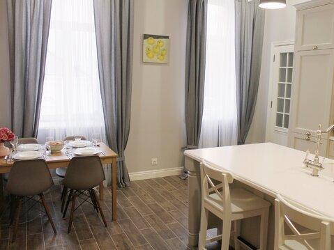 Редкая квартира в центре Москвы со свежим дизайнерским ремонтом - Фото 1