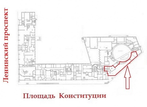Помещение под кафе , ресторан 294.4м2 у метро Московская в аренду - Фото 2