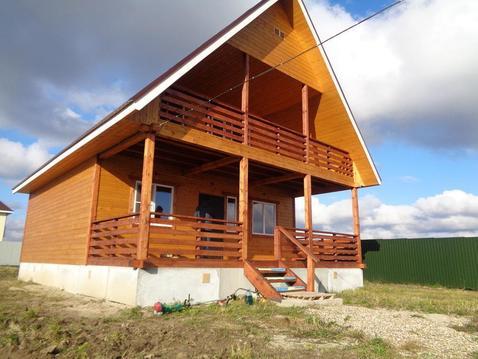 Новый теплый дом в д.Аленино на 10 сотках - Фото 1