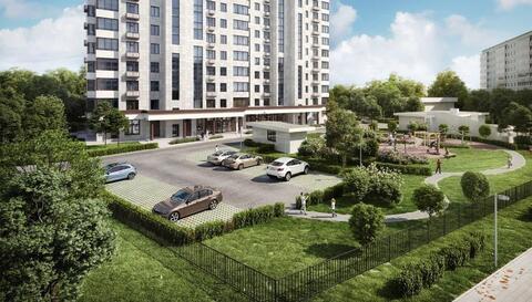 2-комн. квартира 39,45 кв.м. в доме комфорт-класса ЮВАО г. Москвы - Фото 1