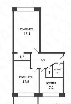 Продажа квартиры, м. Гражданский проспект, Ул. Черкасова - Фото 1