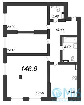 Объявление №42072885: Квартира 3 комн. Санкт-Петербург, Крапивный пер., 4А,