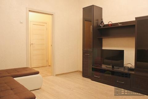 2-комнатная квартира на Ленинском проспекте, евроремонт, новая мебель,0% - Фото 3