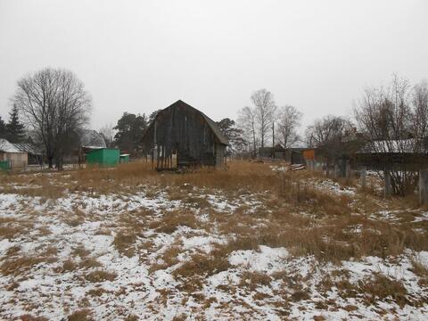 Недостроенный домик в Мещерском Парке у реки Пра. - Фото 4