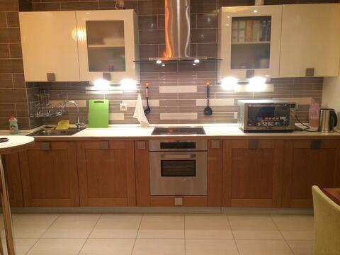 Квартира с готовой евроотделкой 105 м кв кухней от застройщика м. фили - Фото 3