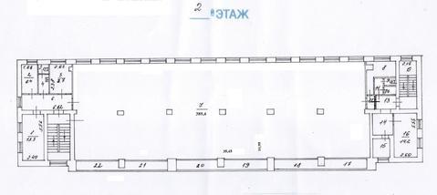 Москва, Нижегородская ул, д.9г. Продается нежилое помещение 543,6 м2. - Фото 3