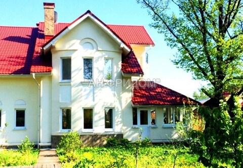 Дом 350 м2 на участке 12 сот, г. Москва, пос. Газопровод Калужское . - Фото 1