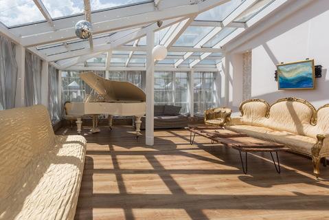 Изысканная квартира с большой террасой в центре посуточно - Фото 4