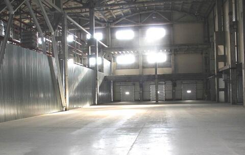Теплое складское помещение 2250 м2 класса А - Фото 1