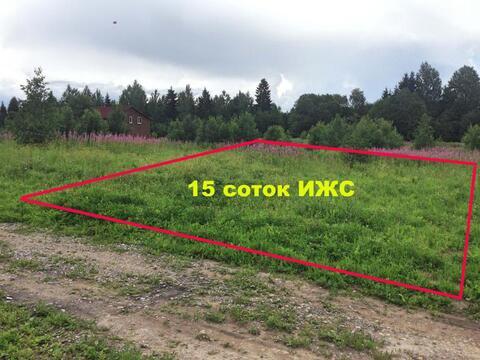 Волосовкий район , деревня Шелково 15 соток ИЖС - Фото 1