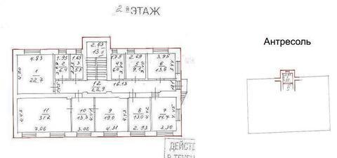 Аренда 2-х этажного отдельно-стоящего здания Общая площадь помещений- - Фото 5