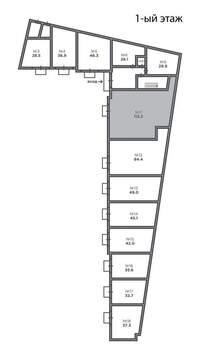 Продам торговое помещение 112.2 кв. м Москва - Фото 3