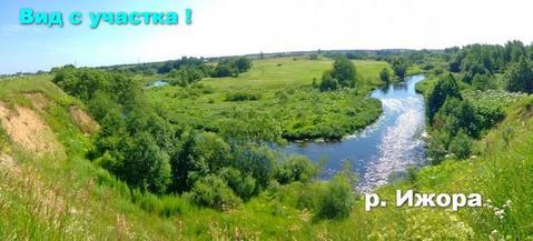 Участок 50 соток, лпх на берегу реки Ижора, в микрорайоне Самсоновка. - Фото 3