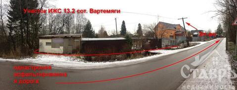 Всеволожский район, п.Вартемяги, 10 сот. ИЖС - Фото 2