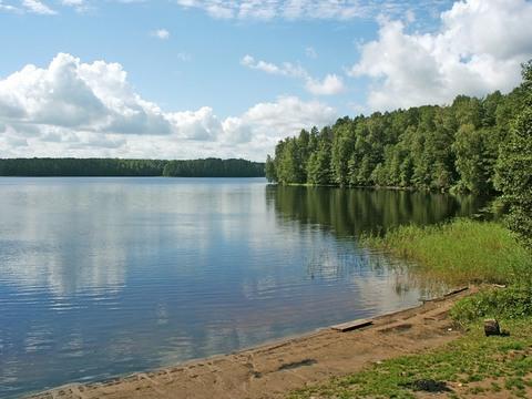 Большой дом большой участок у озера, ИЖС - Фото 1
