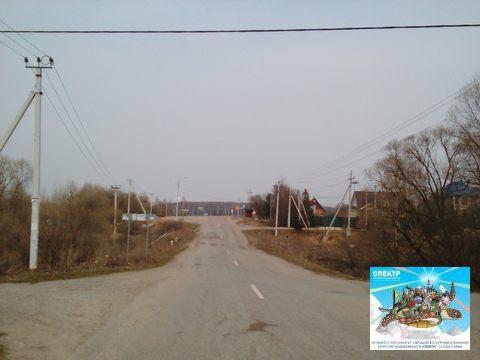 Участок Каширское шоссе, д. Юсупово, газ, свет, вода, ИЖС, 8 соток - Фото 3
