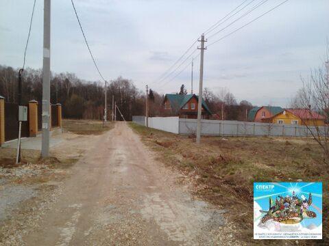 Участок Чехов, Симферопольское шоссе, д. Ваулово, ИЖС, 10 соток. - Фото 5
