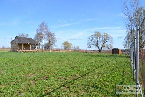 Участок с газом в деревне Калеево, есть баня. Свет подключен - Фото 3