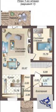 Таунхаус 167 кв.м. Новая Москва. к\п бизнес класса - Фото 2