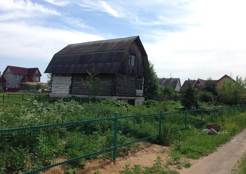 10 сот ИЖС с домом, д.Белозерки - Фото 1