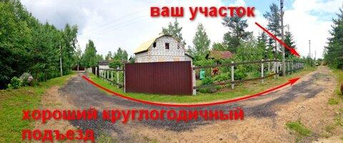 Участок 6 сот СНТ Всеволожский район Романовка - Фото 4