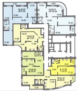 3 комнатная квартира на Рахова - Фото 2