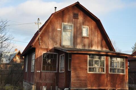 Дача 70 кв.м. на участке 8 сот. в стародачном месте, магистральный газ - Фото 1