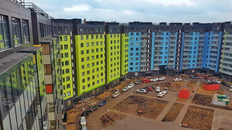 Видовая квартира-пентхаус с личной террасой 66м2 - Фото 4