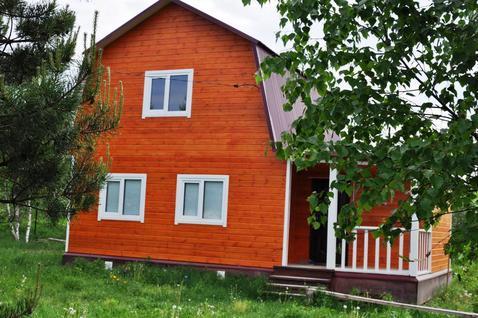 Дом 80 кв.м. на участке 13 соток в ДНТ Полесье. д.Финеево. - Фото 1