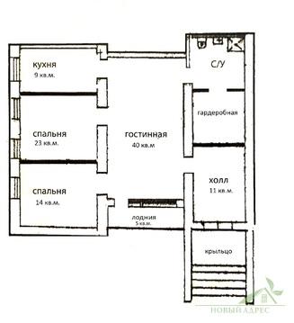 3 комнатная квартира с отдельным входом с улицы - Фото 2