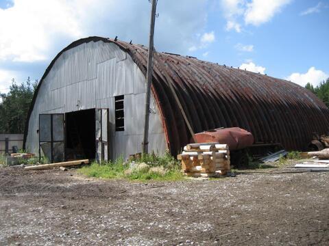 Продается производственный ангар с земельным участком - Фото 1