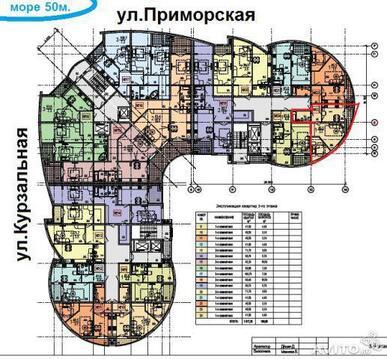 2 к.кв. в новом доме на ул.Приморской - Фото 4