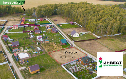 Продажа участка, Симоново, Заокский район - Фото 2