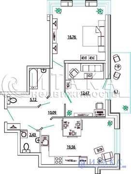Продажа квартиры, м. Московская, Ул. Типанова - Фото 2